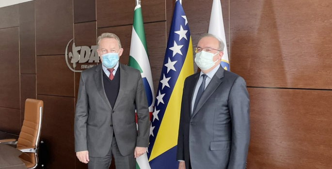 İzetbegoviç, Koronavirüs Aşısı Alımı İçin Türkiye'den Yardım İstedi
