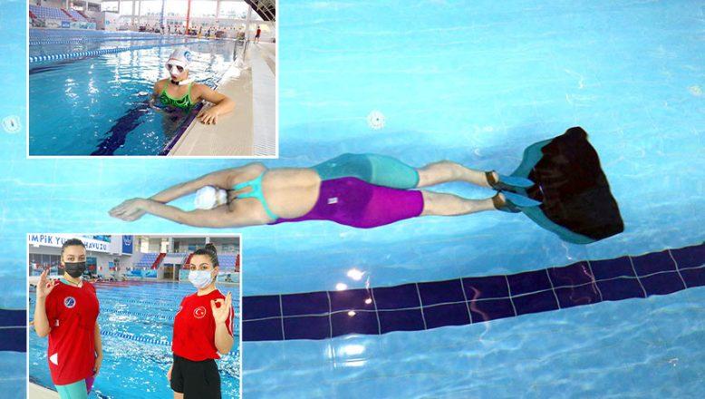 Milli sporcuların hedefi, su altından rekorla çıkmak
