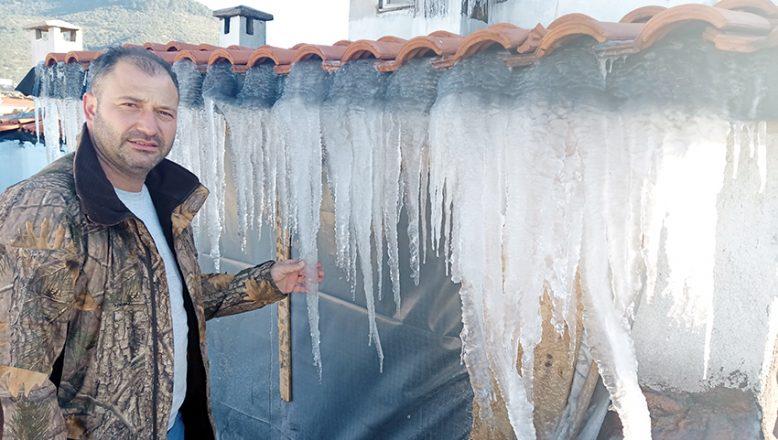 Dondurucu soğuklar, Küçükkuyu'yu olumsuz etkiledi