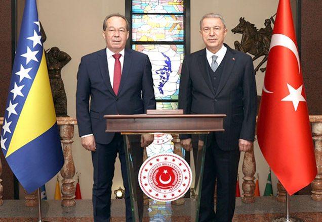 Bosna Hersek Savunma Bakanı Podzic, Türkiye'ye geldi