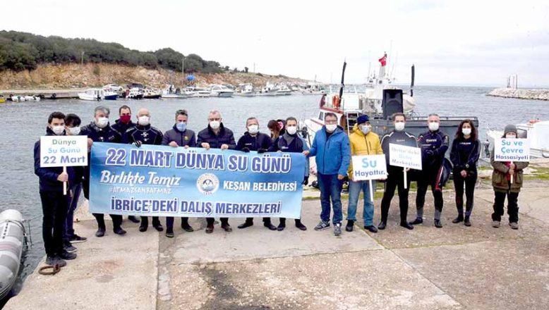 İbrice Limanı'nda dip temizliği yaptılar