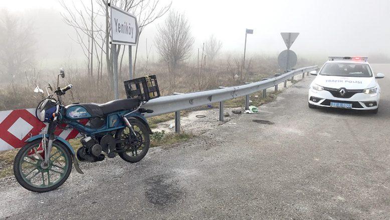 Ölüm motosiklette yakaladı!