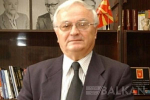 Makedonya'nın eski Ankara Büyükelçisi Trayan Petrovski hayatını kaybetti