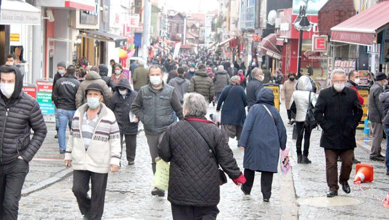 Edirne nüfusunun yüzde 49,9'unu kadınlar oluşturuyor