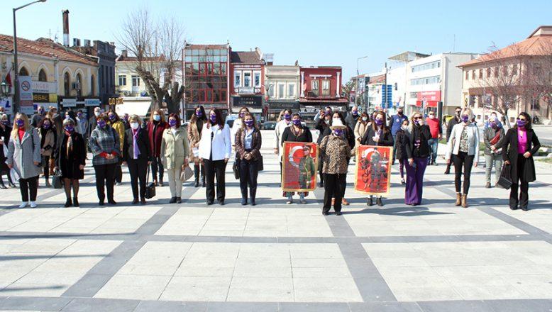 Edirne'de 8 Mart coşkusu