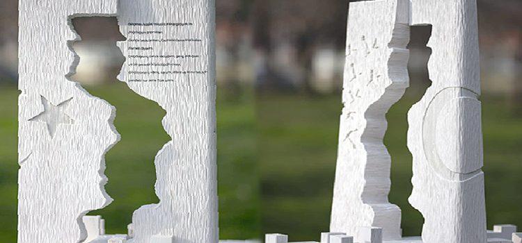 Göç Anıtı'nı göçmen sanatçı tasarladı