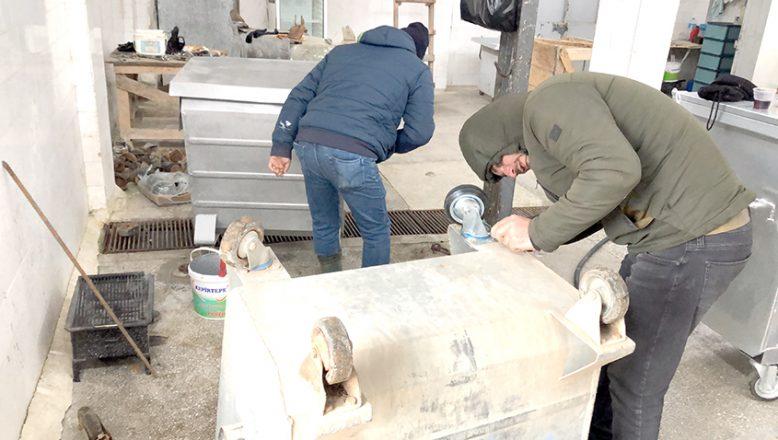 Süloğlu'nda çöp konteynerleri yenileniyor