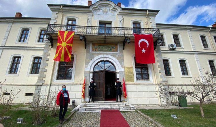 Mustafa Kemal Atatürk'ün Askeri İdadisinden mezuniyetinin 122. Yıldönümü
