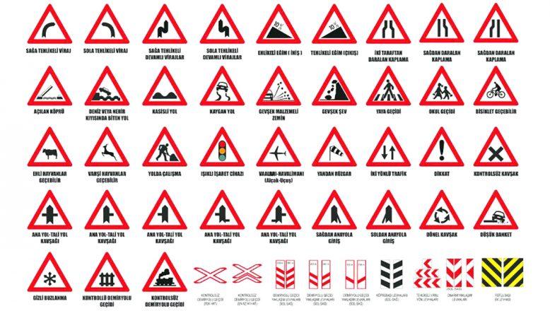 Trafik işaret ve bilgi levhası alınacak