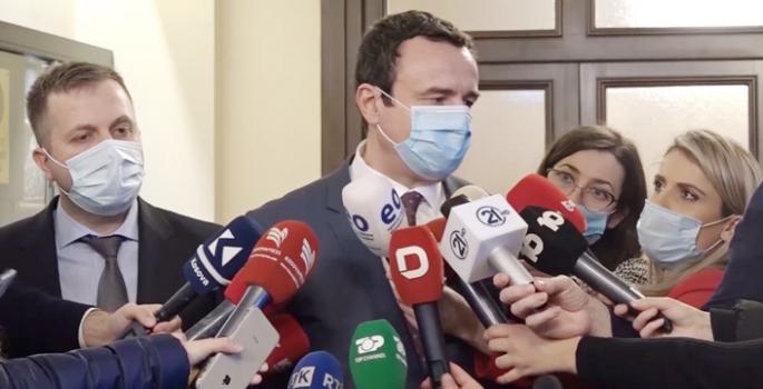 Kosova'da yeni hükümet için görüşmeler başladı