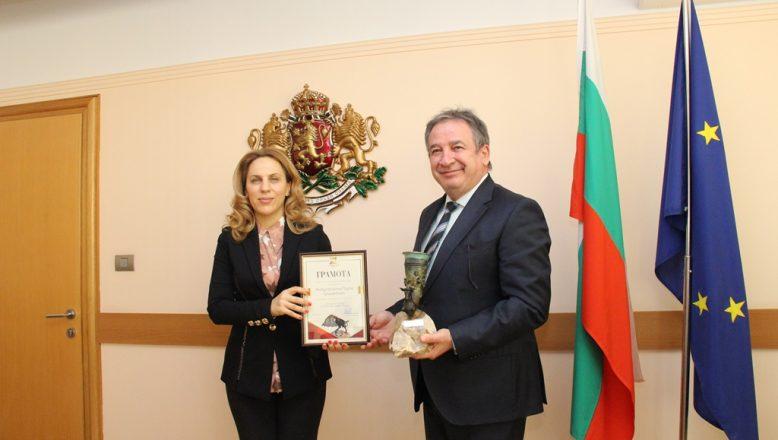 Şişecam'a Bulgaristan'da ödül