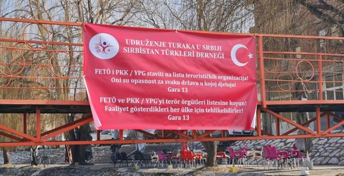 """Sırbistan Hükümetine """"Gara 13"""" mesajı"""