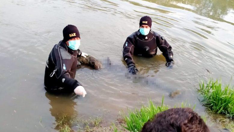 Cesedi, Tunca Nehri'nde bulundu