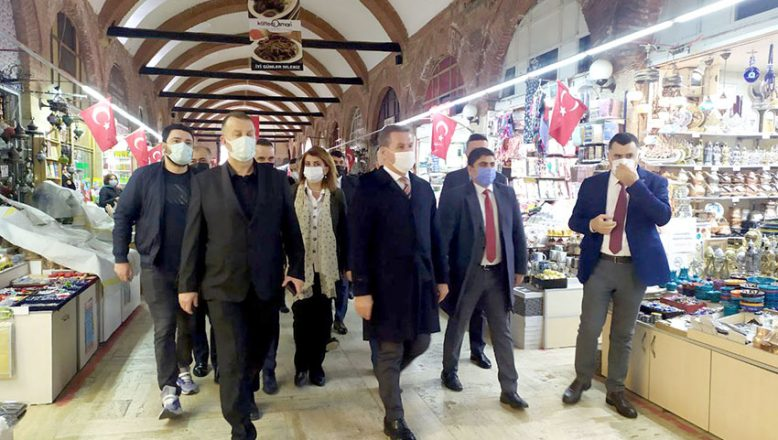 TDP Genel Başkanı Sarıgül Edirne'de