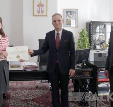 Türkiye Cumhuriyeti Yeni Pazar Başkonsolosu göreve başladı