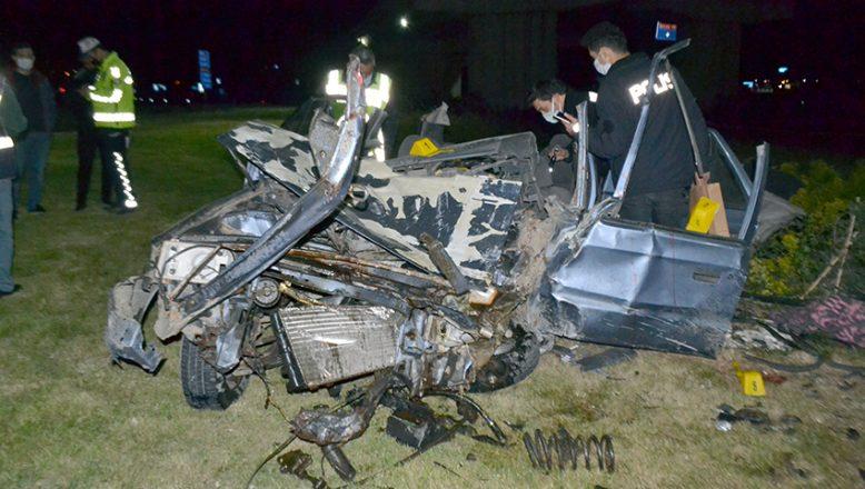 Feci kazada 1 kişi öldü 2 kişi yaralandı