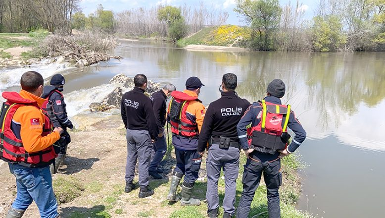 Kayıp kişi Tunca'da aranıyor