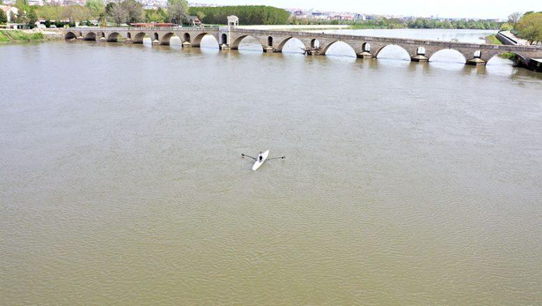 Meriç Nehri'nde kürek festivali düzenlenecek