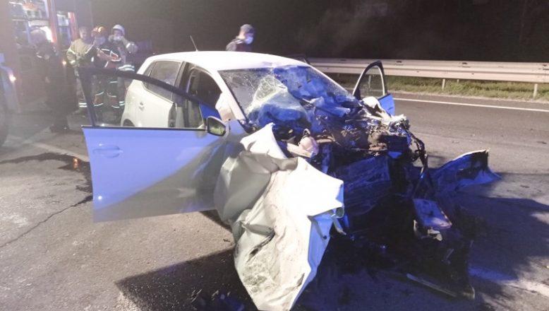 Feci kazada, sürücü hayatını kaybetti