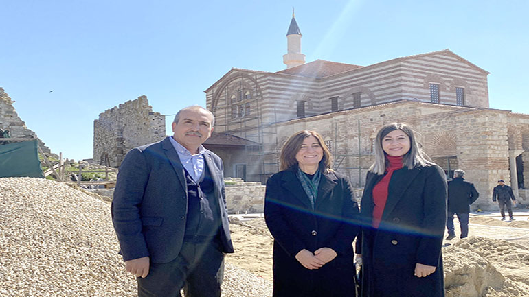 Milletvekili Aksal'dan Enez ziyareti
