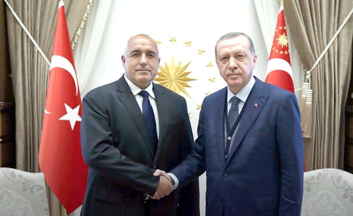 Cumhurbaşkanı Erdoğan, Borisov ile telefonda görüştü