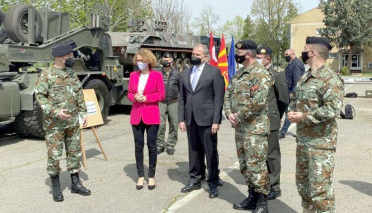 Türkiye'den Kuzey Makedonya Ordusuna hibe