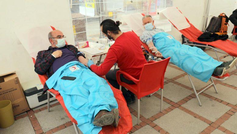 Kan bağışı seferberliği