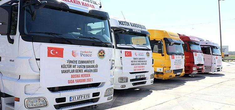 Balkan ülkelerine Ramazan yardımı