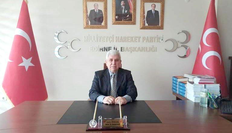 MHP'den salgınla mücadeleye destek
