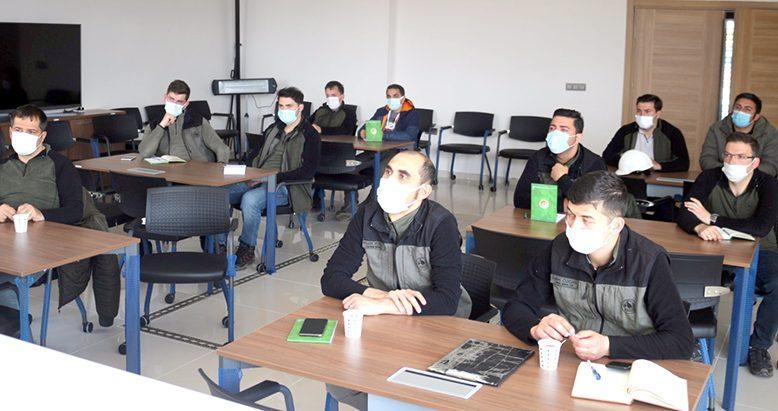 Orman Yangınlarına Müdahale Eğitimi düzenlendi