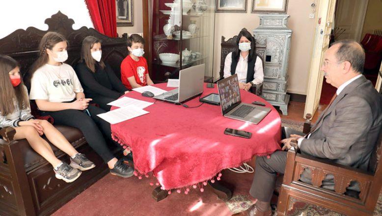 Atatürk Odası'ndan seslendiler