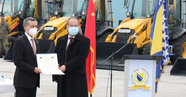 Çin'den Bosna Hersek Silahlı Kuvvetleri'ne Araç Desteği