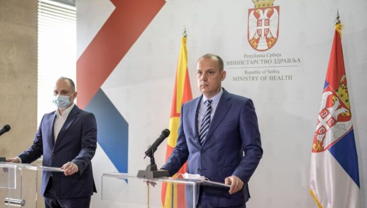 15 Bin Kuzey Makedonya Vatandaşı Sırbistan'da Aşı Oldu