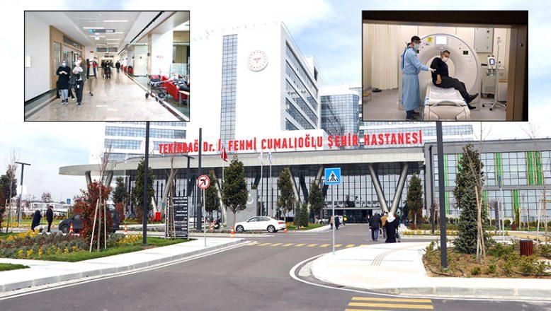 Yurt içi ve yurt dışından hastalara hizmet veriyor
