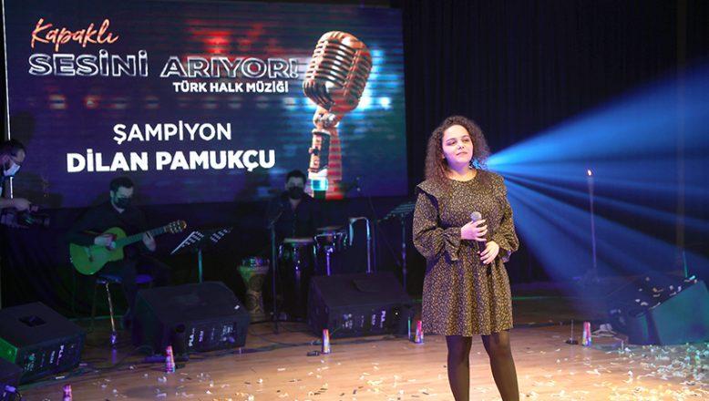 Ses yarışmasında Dilan Pamukçu, 1.