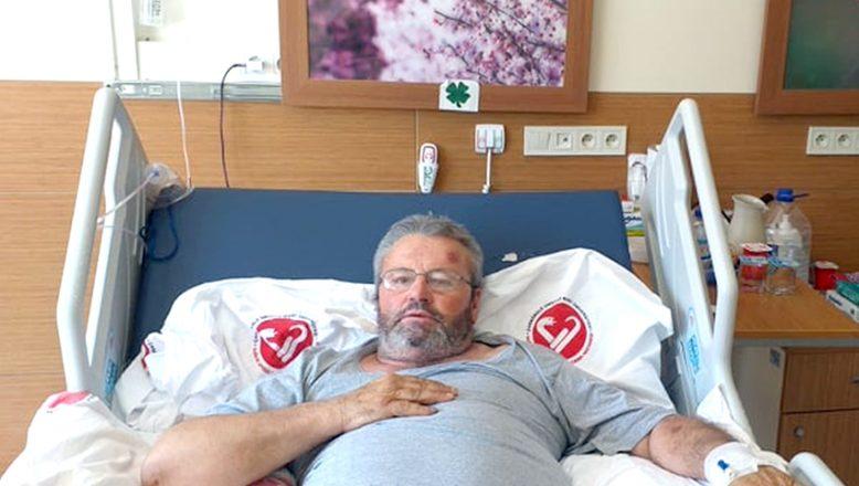 Kovid-19 hastası, 22 gün sonra hayata tutundu