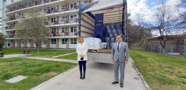 TİKA'dan Bosna Hersek'te yaşlı bakımevine destek