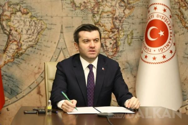 Dışişleri Bakan Yardımcısı Kıran Selanik ve Batı Trakya'yı ziyaret edecek