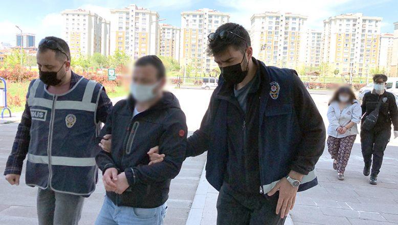 Anne ve oğul cinayetten tutuklandı