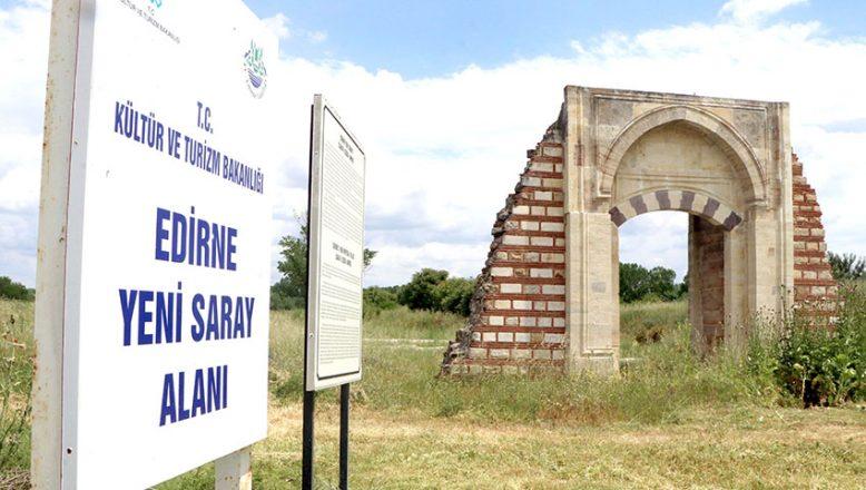 Saray'a jeoradar tarama