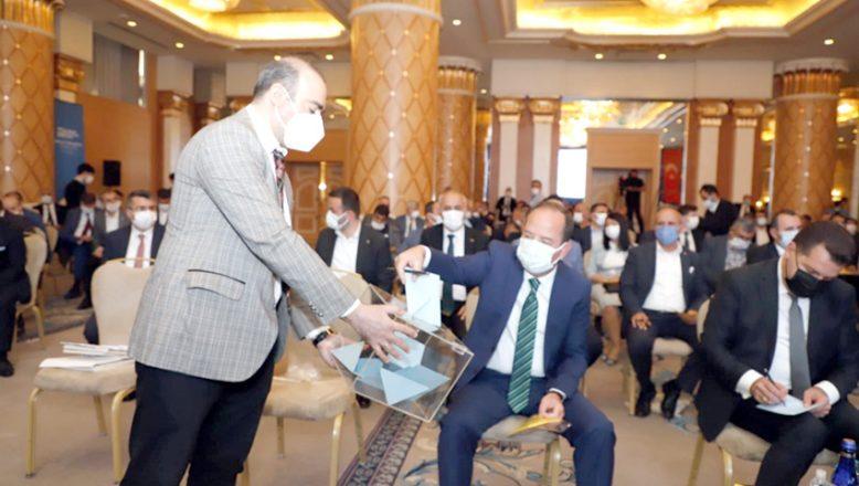 Gürkan, yeniden Encümen Üyeliğine seçildi