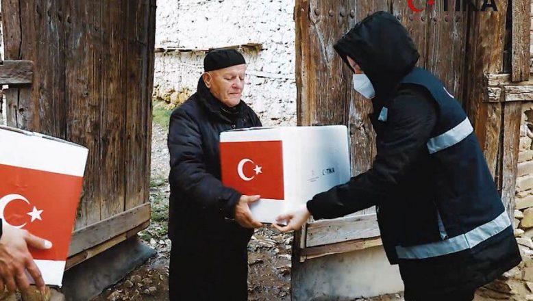 TİKA Erenler Sofrası Kuzey Makedonya'da
