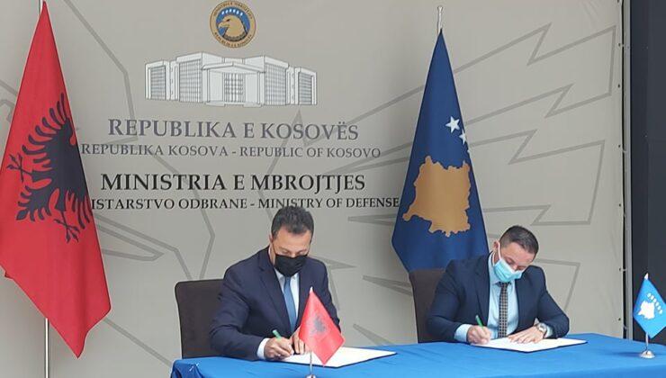 Kosova ve Arnavutluk arasında savunma alanında işbirliği