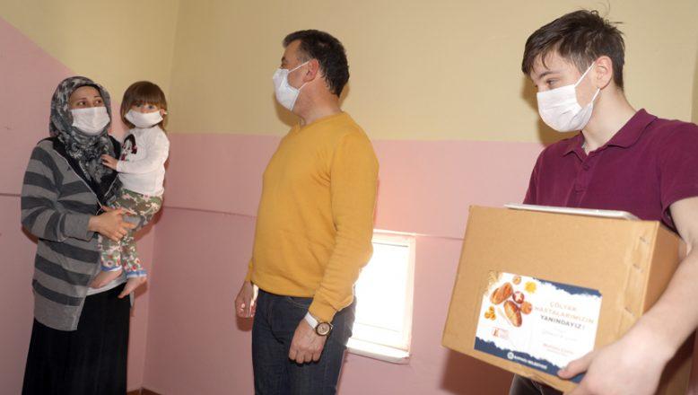 Çölyak hastalarına glutensiz gıda paketi yardımı yapıldı