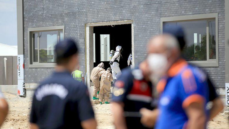 Enerji üretim fabrikasının buhar kazanı borusu patladı: 1 yaralı