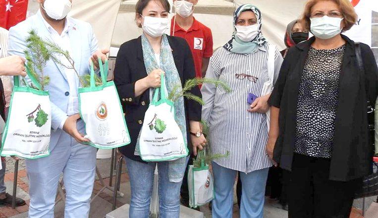 Kan bağışı kampanyasına destek verdiler