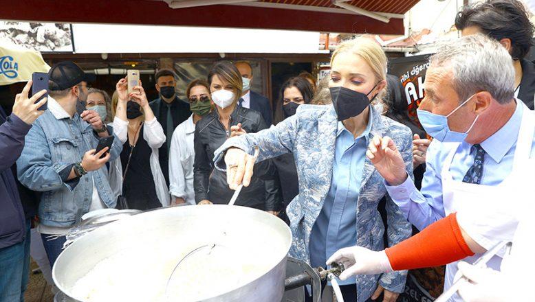 Edirne'yi gezip, tava ciğer pişirdiler