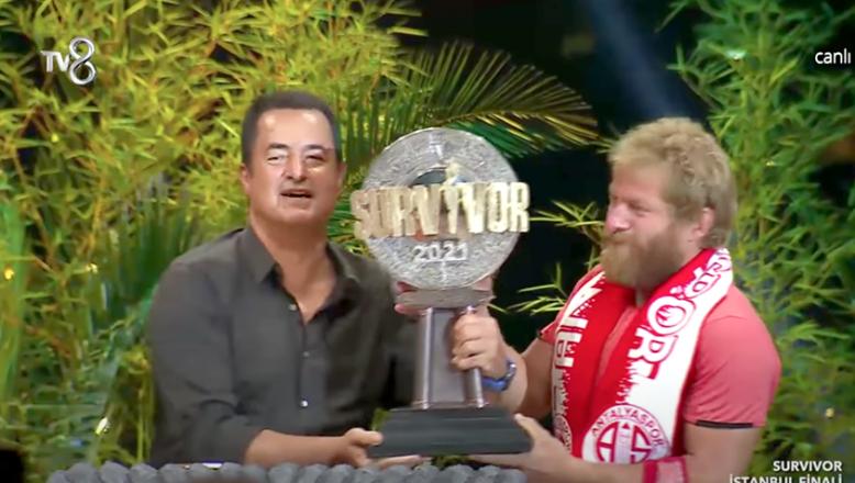 Survivor'un şampiyonu Balaban oldu