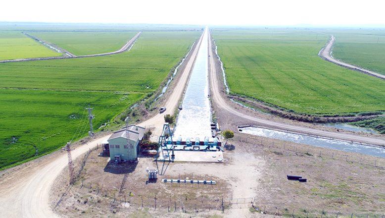 Trakya'da sulama sezonu başladı