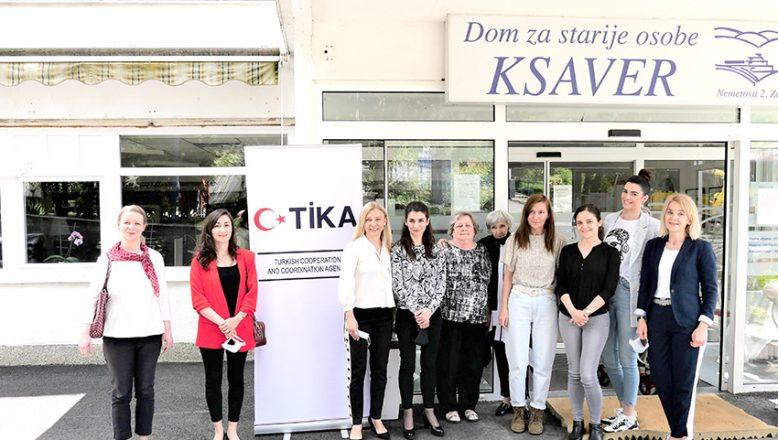 TİKA'dan Hırvatistan'daki Ksaver Huzurevi'ne Destek